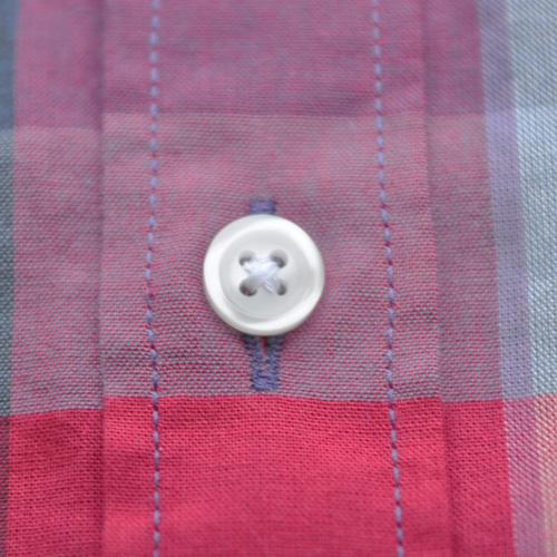 J.CREW (ジェイクルー) 半袖チェックボタンシャツ - 4