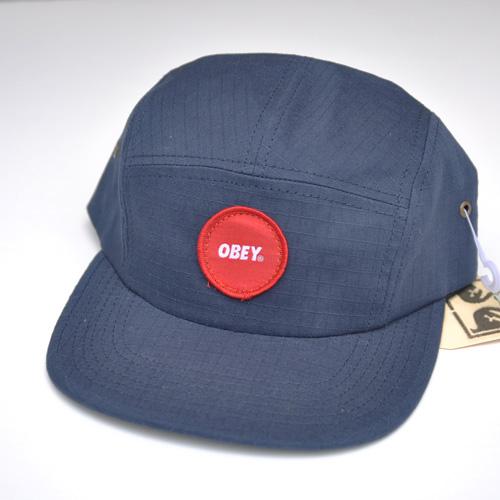 OBEY (オベイ) スナップバックCAP ネイビー