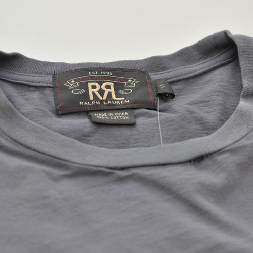 RRL (ダブルアールエル) ナンバリングビンテージTシャツ ネイビー - 2