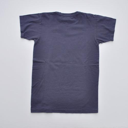 RRL (ダブルアールエル) フロントプリント半袖Tシャツ ネイビー - 1
