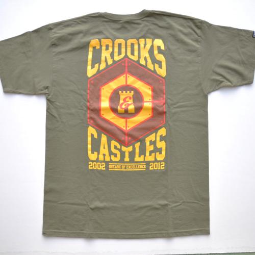 CROOKS&CASTLES /クルックス&キャッスル  半袖Tシャツ-2