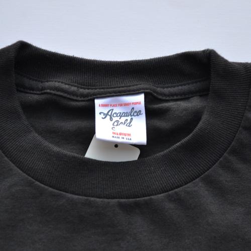 ACAPULCO GOLD (アカプルコゴールド) 半袖Tシャツ ブラック - 2