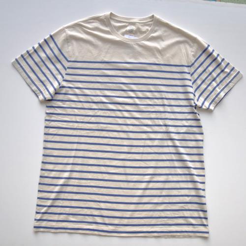 J.CREW (ジェイクルー) 半袖ポケット付ボーダーTシャツ