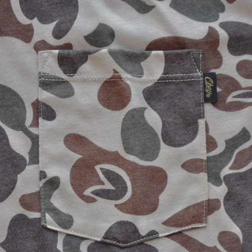 OBEY(オベイ)半袖Tシャツ カモフラージュ-4