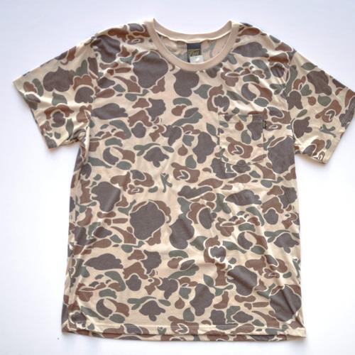 OBEY(オベイ)半袖Tシャツ カモフラージュ