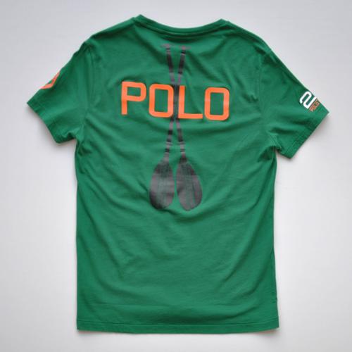 POLO RALPH LAUREN (ポロ ラルフローレン)半袖Tシャツ グリーン - 1