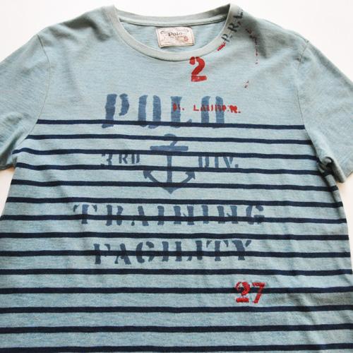 POLO RALPH LAUREN / ポロラルローレン ボーダーマリングラフィックTシャツ - 3