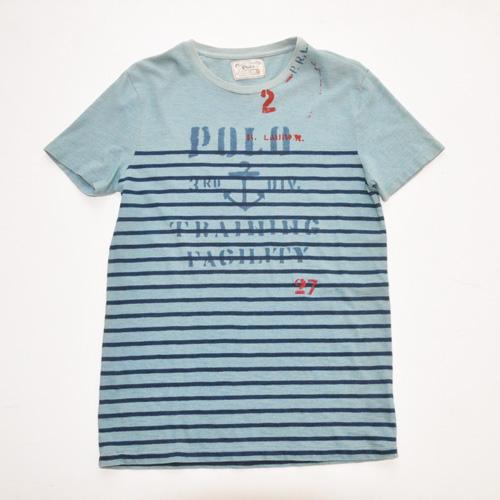 POLO RALPH LAUREN / ポロラルローレン ボーダーマリングラフィックTシャツ