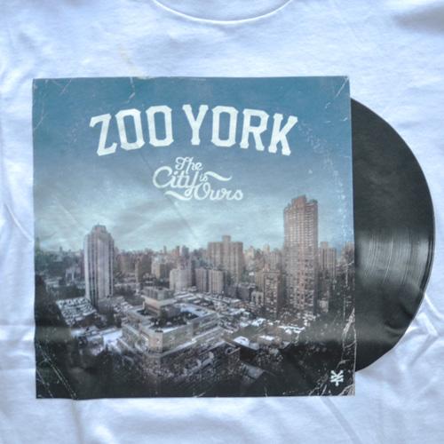 ZOO YORK (ズーヨーク) フロントプリント半袖Tシャツ - 3