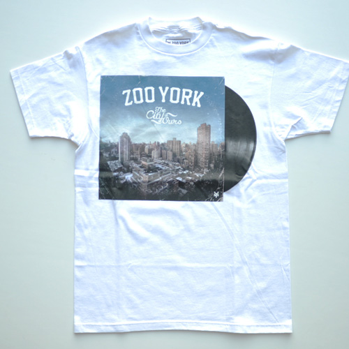 ZOO YORK (ズーヨーク) フロントプリント半袖Tシャツ