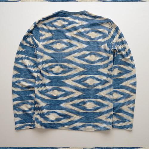 DENIM&SUPPLY (デニム&サプライ) ヘンリーネック長袖Tシャツ - 1