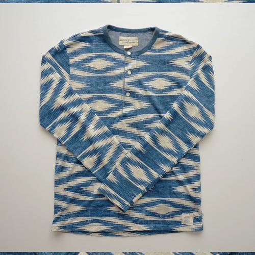 DENIM&SUPPLY (デニム&サプライ) ヘンリーネック長袖Tシャツ