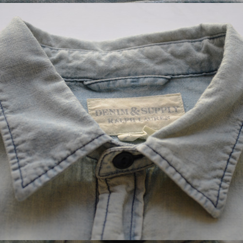 DENIM&SUPPLY (デニム&サプライ) ペイズリーパッチ長袖シャツ - 2