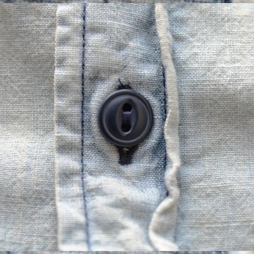 DENIM&SUPPLY (デニム&サプライ) ペイズリーパッチ長袖シャツ - 3