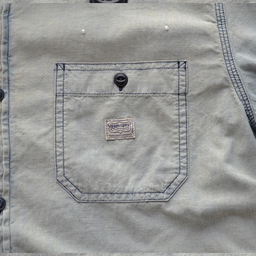 DENIM&SUPPLY (デニム&サプライ) ペイズリーパッチ長袖シャツ - 4