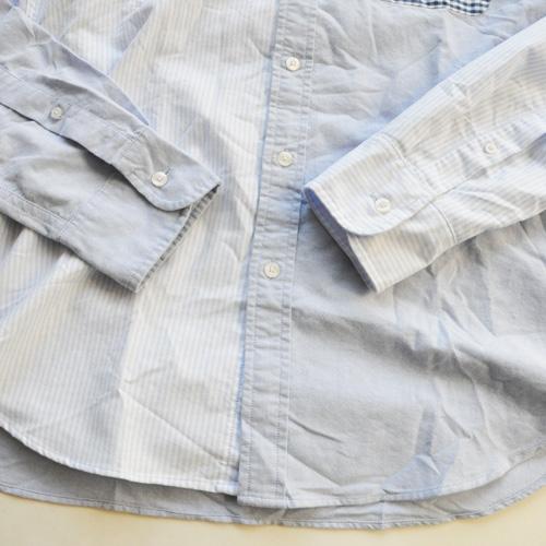 J.CREW / ジェイクルー クレイジーパターン オックスフォードシャンブレーシャツ - 3