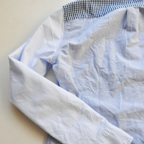 J.CREW / ジェイクルー クレイジーパターン オックスフォードシャンブレーシャツ - 5