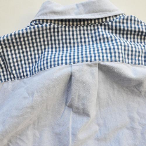 J.CREW / ジェイクルー クレイジーパターン オックスフォードシャンブレーシャツ - 6