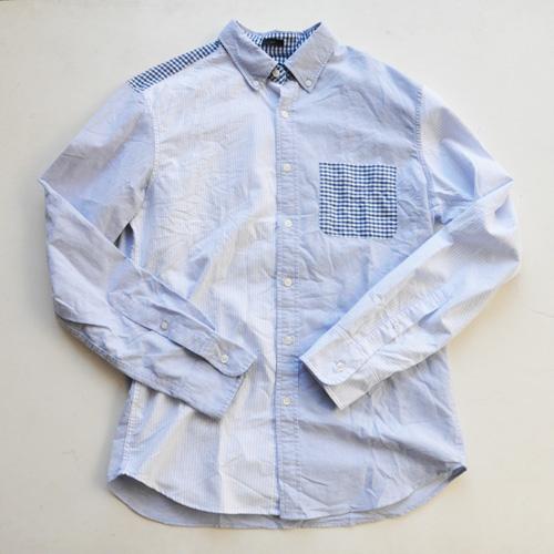J.CREW / ジェイクルー クレイジーパターン オックスフォードシャンブレーシャツ