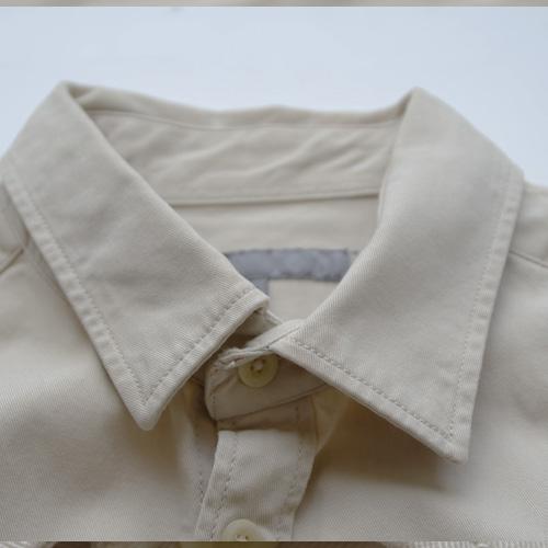 ロングスリーブミリタリーワークシャツ-2