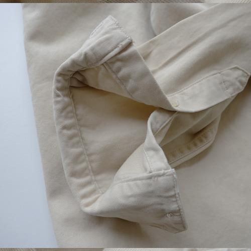 ロングスリーブミリタリーワークシャツ-3