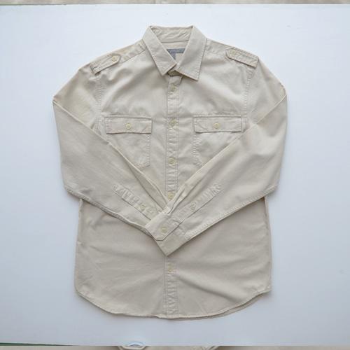 ロングスリーブミリタリーワークシャツ
