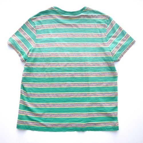 POLO RALPH LAUREN  /ラルフローレン 半袖ボーダーポケットTシャツ - 1