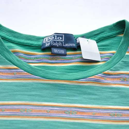POLO RALPH LAUREN  /ラルフローレン 半袖ボーダーポケットTシャツ - 3
