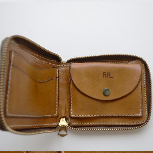 RRL (ダブルアールエル) カモフラージュジップウォレット - 2