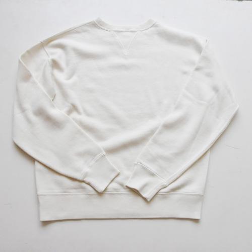 RRL/ダブルールエル 裏起毛ビンテージスウェット ホワイト - 1