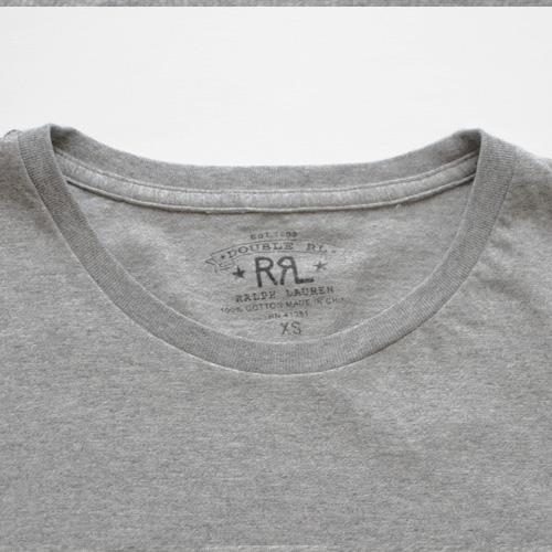 RRL (ダブルアールエル) 無地フロントポケット付きTシャツ 2カラー - 3