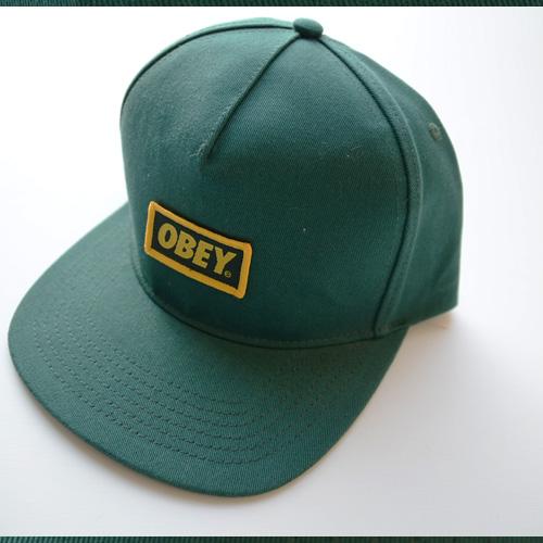 OBEY/オベイ スナップバック グリーン