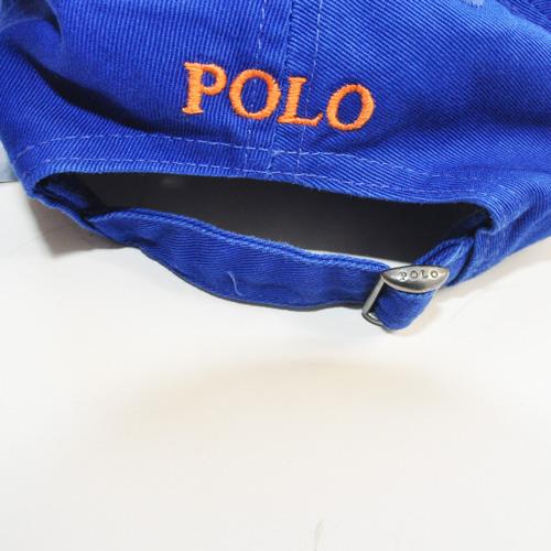 POLO RALPH LAUREN / ポロラルローレン 1ポイントポニーコットンキャップ ブルー - 4