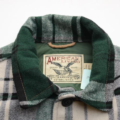 AMERICAN LIVING/アメリカンリビング 厚手ビンテージチェックネルシャツ - 4