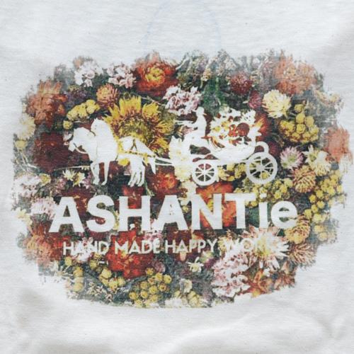 ASHANTie /アシャンティ VネックフラワーTシャツ - 2