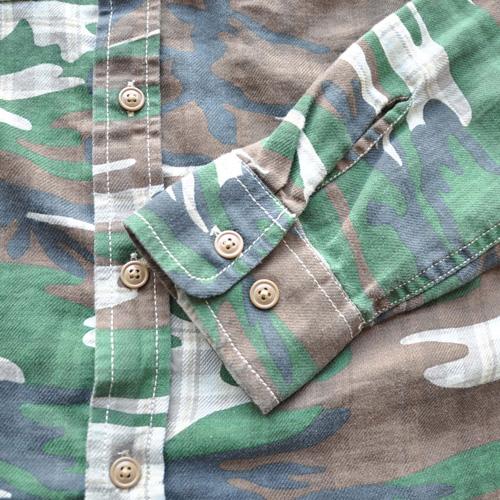 DENIMU&SUPPLY/デニムアンドサプライ カモフラージュボタンシャツ - 2