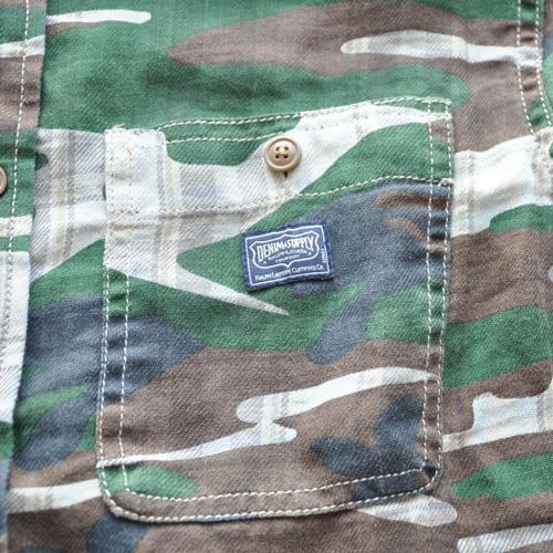 DENIMU&SUPPLY/デニムアンドサプライ カモフラージュボタンシャツ - 3