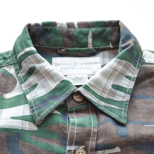DENIMU&SUPPLY/デニムアンドサプライ カモフラージュボタンシャツ - 4