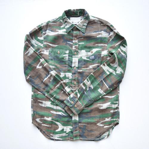 DENIMU&SUPPLY/デニムアンドサプライ カモフラージュボタンシャツ