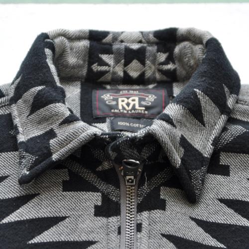 RRL/ダブルアールエル ネイティブ柄ワークシャツ - 4
