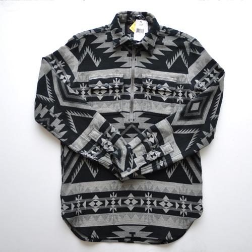 RRL/ダブルアールエル ネイティブ柄ワークシャツ