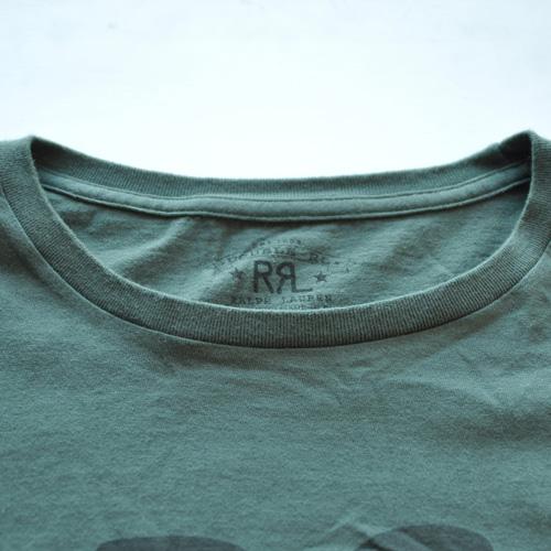 RRL/ダブルアールエル  フロントロゴロングスリーブTシャツ - 3