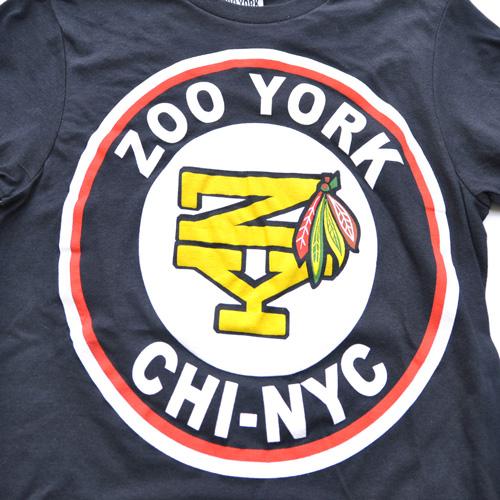 ZOO YORK/ズーヨーク フロントプリント半袖Tシャツ - 3