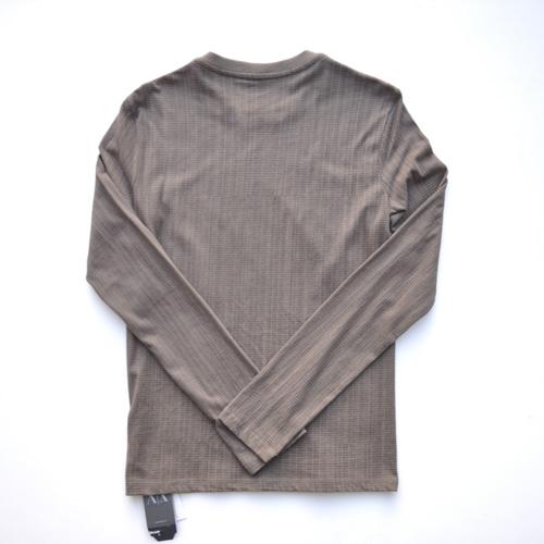 ARMANI EXCHANGE /アルマーニエクスチェンジ 総柄プリントロングスリーブTシャツ - 1