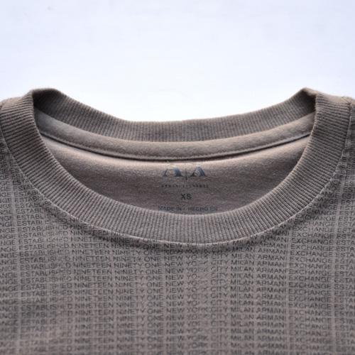 ARMANI EXCHANGE /アルマーニエクスチェンジ 総柄プリントロングスリーブTシャツ - 4