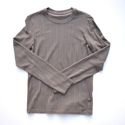 ARMANI EXCHANGE /アルマーニエクスチェンジ 総柄プリントロングスリーブTシャツ