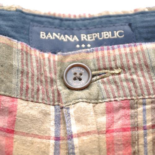 BANANA REPUBLIC/バナナリパブリック ビンテージタータンチェックショーツ-3
