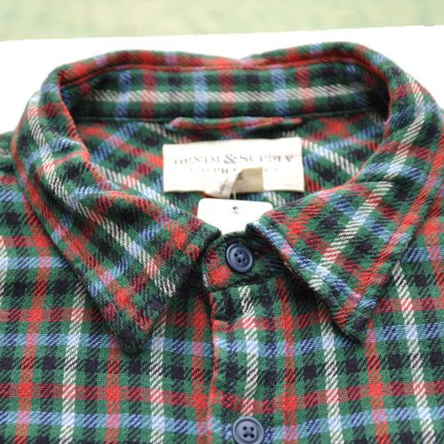 DENIM&SUPPLY /デニム&サプライ  長袖チェックボタンシャツ - 3