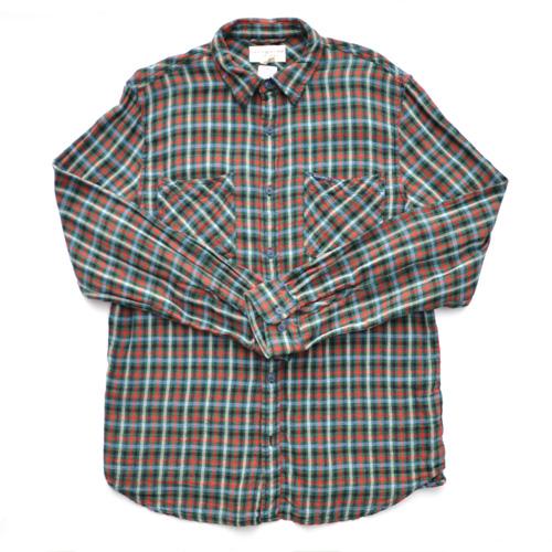DENIM&SUPPLY /デニム&サプライ  長袖チェックボタンシャツ