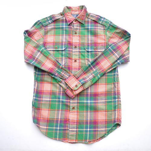POLO RALPH LAUREN/ポロ ラルフローレン ミリタリーロングスリーブボタンシャツ